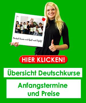 Deutsch lernen in Düsseldorf - Unsere Deutschkurse